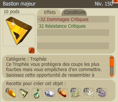 Recette Nouveaux Trophées  BastionM