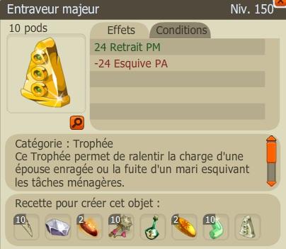Recette Nouveaux Trophées  EntraveurM