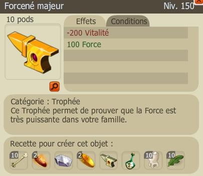 Recette Nouveaux Trophées  ForceneM2