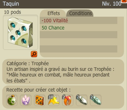 Nouveaux Trophées  Taquin